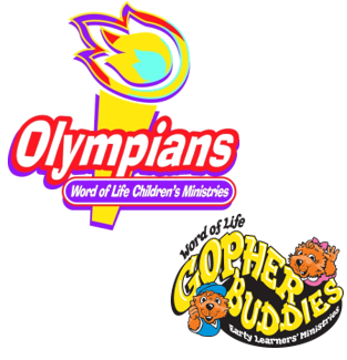 Image of Olympians and Gopher Buddies Logos
